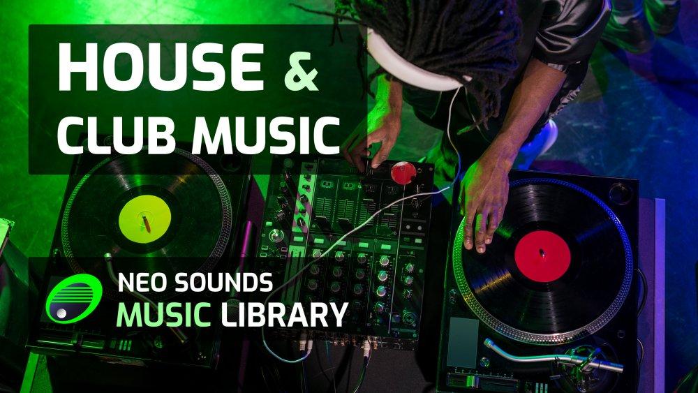 Royalty-free House & Club music